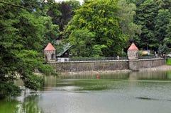 Liberec dam Stock Image