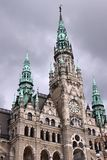 Liberec stadshus Royaltyfria Foton