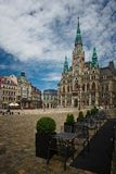 Liberec Town Hall Stock Image
