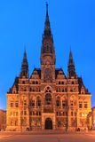 Liberec town hall Royalty Free Stock Photo