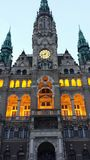 Liberec Town Hall in Liberec Czech Republic. The Neo-Renaissance style town hall building in the city of Liberec in Czech Republic Royalty Free Stock Photo