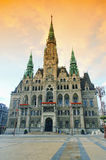Liberec townhall Stock Photography