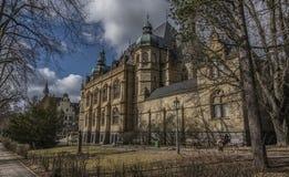 Liberecmuseum in de winter zonnige dag Royalty-vrije Stock Foto