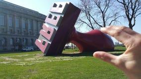 Liberi il bollo Fotografie Stock Libere da Diritti