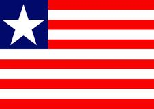 Liberia Flag Royalty Free Stock Photo