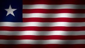 Liberia flag stock footage  Video of flag, liberian, liberia