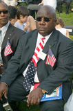 Liberian immigrant. And 76 new American citizens at Independence Day Naturalization Ceremony on July 4, 2005 at Thomas Jefferson's home, Monticello Royalty Free Stock Photo