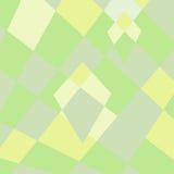 Libero: Fondo di gusto squisito del poligono di giallo geometrico di verde Immagine Stock