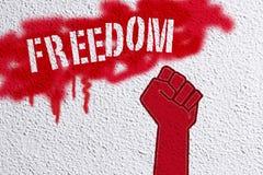 Libertà Fotografie Stock