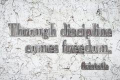 Libertà Aristotole di disciplina immagini stock libere da diritti