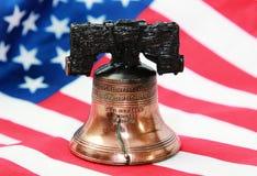 Libertà Bell variopinta della t Fotografie Stock