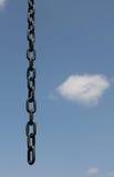 Libertà, catena aperta e cielo blu Fotografia Stock