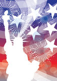 Libertà degli S.U.A. royalty illustrazione gratis