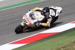 Libertà del Maxime Berger Ducati 1098R Effenbert fotografia stock