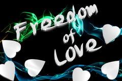 Libertà di amore Fotografia Stock Libera da Diritti