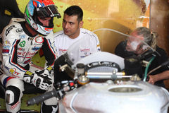 Libertà di Jakub Smrz Ducati 1098R Effenbert Immagini Stock