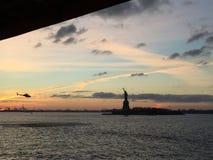 LIBERTÀ DI NYC fotografia stock libera da diritti