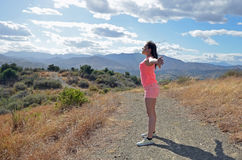 Libertà nel vento Fotografia Stock
