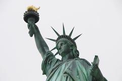 Libertà verde della statua Fotografie Stock