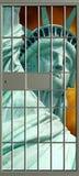 Liberté contre l'oppression Photographie stock