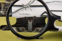 Liberté de concept de presse images libres de droits
