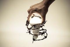 Liberté de pensée et d'idée Image stock