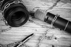 Liberté de presse photographie stock