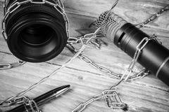 Liberté de presse photo libre de droits