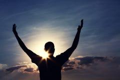 Liberté, foi et espoir Photographie stock