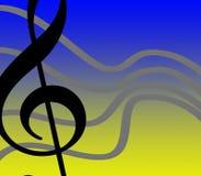 Liberté musicale Images libres de droits