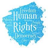 Liberté politique de droits de l'homme de vecteur, démocratie Photo libre de droits