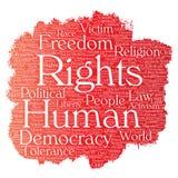Liberté politique de droits de l'homme de vecteur, démocratie Photos stock