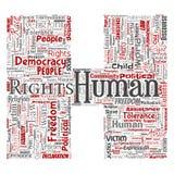 Liberté politique de droits de l'homme de vecteur, démocratie Photographie stock
