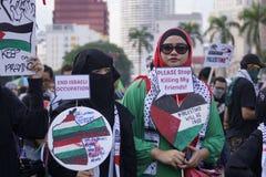 Liberté pour GAZA Photo libre de droits