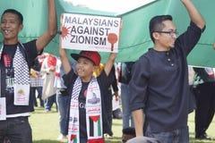 Liberté pour GAZA Images stock