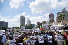 Liberté pour GAZA Images libres de droits
