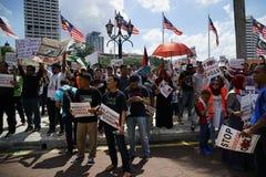 Liberté pour GAZA Photographie stock