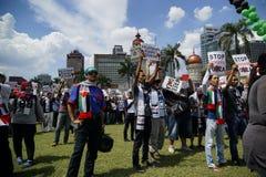 Liberté pour GAZA Photographie stock libre de droits