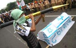 Libertà della Palestina di sostegno Fotografia Stock Libera da Diritti