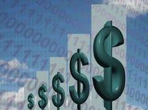 Libertà finanziaria Fotografie Stock Libere da Diritti