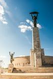 Libert Statue on Gellert Hill Stock Photography