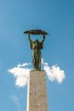 Libert Statue on Gellert Hill Stock Photos