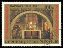 Libertação da pintura do Saint Pierre Imagens de Stock Royalty Free