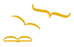 Libertad de la educación (vector) Imagen de archivo libre de regalías