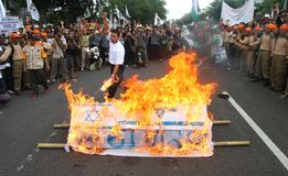 Libertad de Palestina de la ayuda foto de archivo libre de regalías