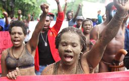 Libertad de Papua del oeste Fotos de archivo libres de regalías