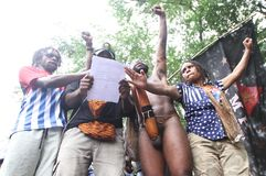 Libertad de Papua del oeste Foto de archivo