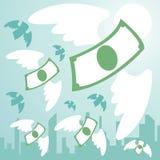 Libertad del dinero ilustración del vector