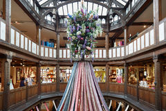 Libertad, interior de lujo de los grandes almacenes en Londres Foto de archivo