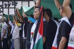 Libertad para GAZA imágenes de archivo libres de regalías